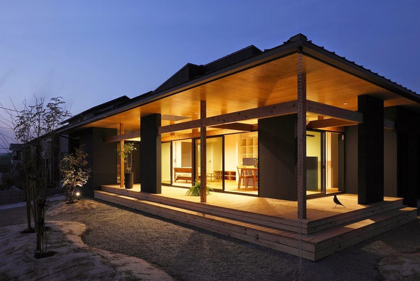 Casa japonesa moderna planos