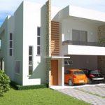 Planos de casas de dos pisos de 220 metros cuadrados