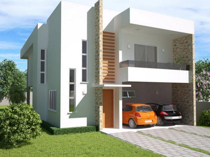 Planos de casas de dos pisos de 220 metros cuadrados for Casa de dos plantas de 70 metros cuadrados