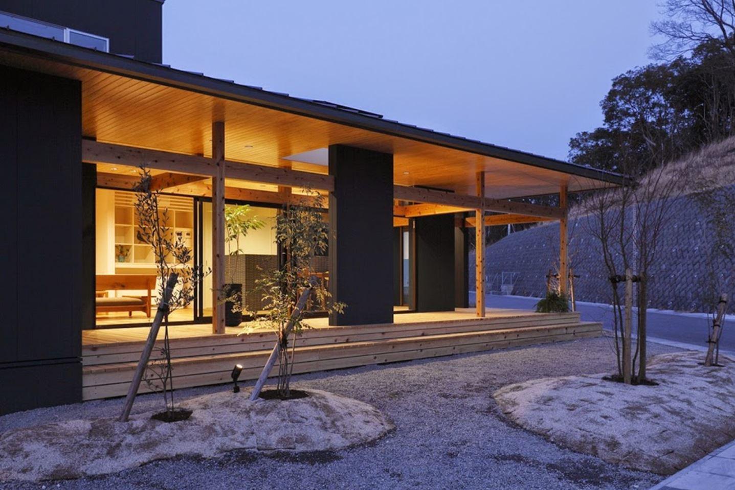 casas japonesas modernas planos