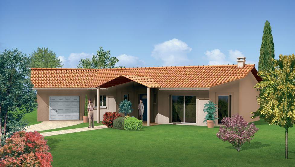 Modelo de casas de una planta elegant plano de casa de for Modelos de techos para galerias
