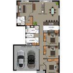 Modelos de casas modernas de 4 dormitorios