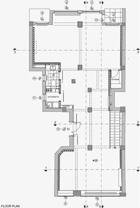 Galer a de arte planta arquitect nica for Que es una planta arquitectonica