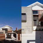 Casa de madera y cemento barata
