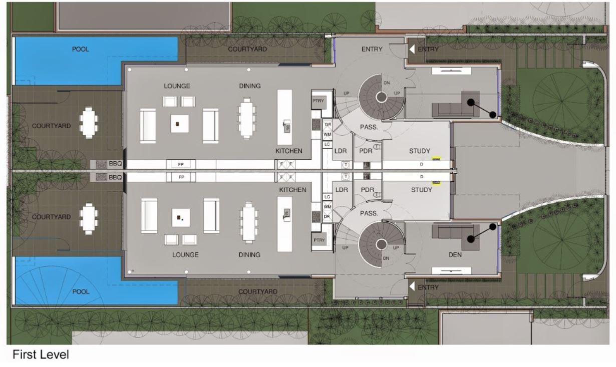 Planos y casas planos de casas plantas arquitect nicas - Casas unifamiliares planos ...