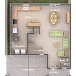 Planos de duplex de 4 metros de frente