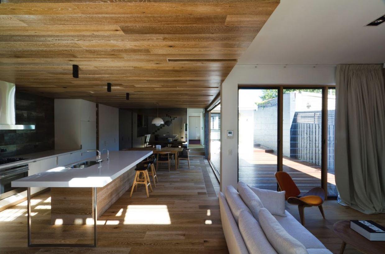 Dise o de casa de madera de dos pisos - Casas de madera y cemento ...