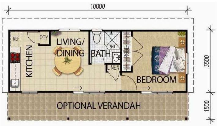 Dise os de apartamentos for Diseno de apartamentos de 90 metros cuadrados