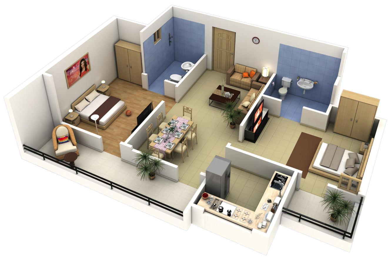 Идеальный дом: планировка дома 21
