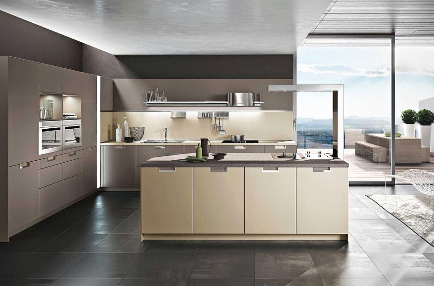 Cocinas modernas for Casas actuales modernas