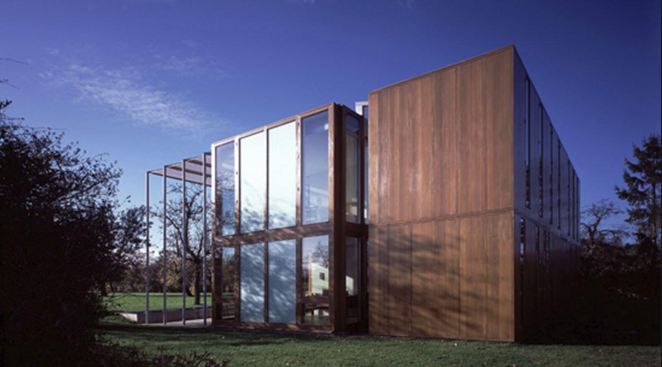 Planos y casas planos de casas plantas arquitect nicas - Fachada de cristal ...