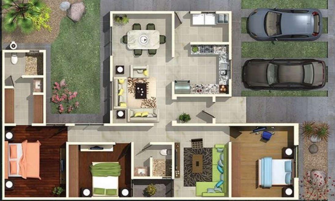 Dise o casa planta baja garaje casa dise o casa dise o for Diseno casa planta baja