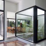 Fotos casas minimalista con patio interno y modernas de una sola planta
