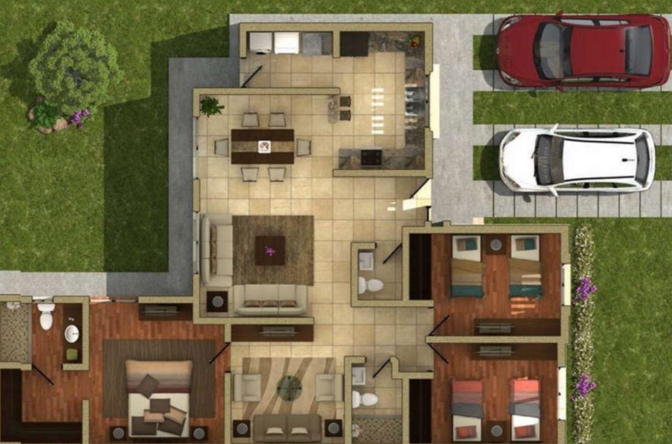 Modelos de casas de una planta para construir - Casas de una planta ...