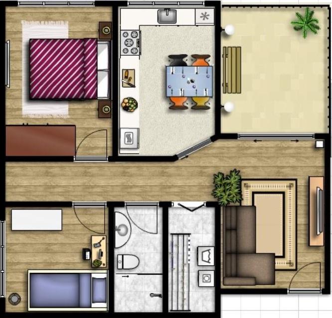 Fotos casas minimalista con patio interno y modernas de for Diseno de casas minimalistas de una planta