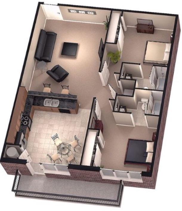 Habitacion 12 metros cuadrados free un apartamento de for Cuanto cuesta pintar una habitacion