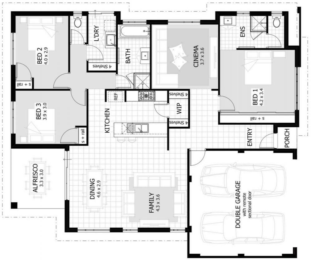 Best disenos 42 metros cuadrados for Diseno para casa de 90 metros cuadrados