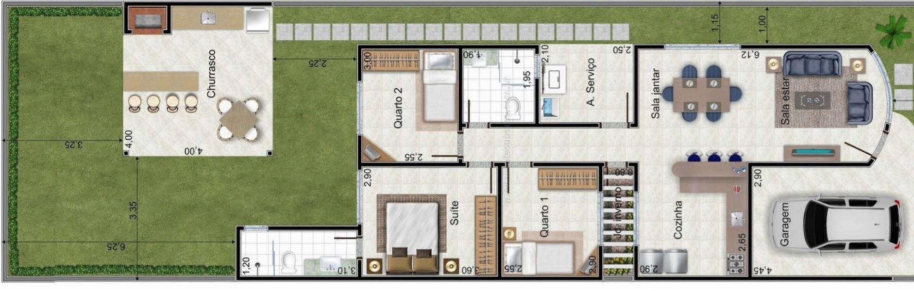 Planos y casas planos de casas plantas arquitect nicas for Construir una casa de una planta