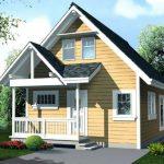 Casas prefabricadas estilo norteamericano con planos