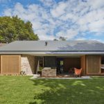 Plano para casa de ladrillos y techo de chapa