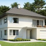 Planos de casas de dos pisos con medidas en metros reales
