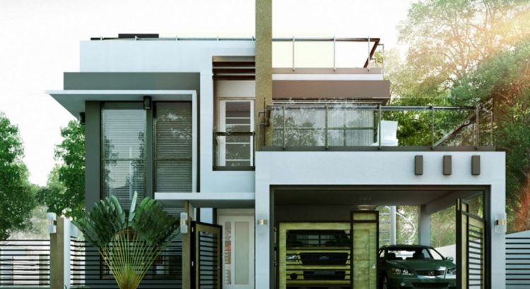 Modelos de casas de dos pisos para construir for Casas modelos para construir