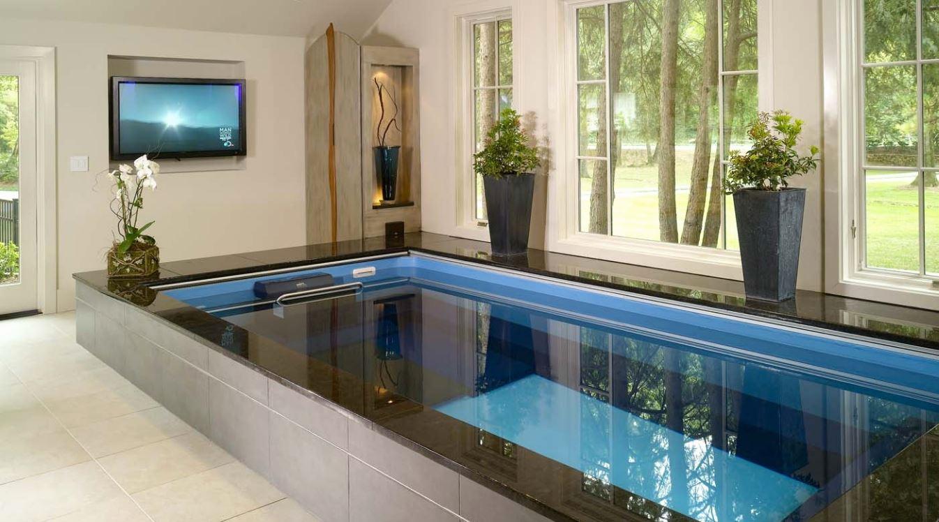10 incre bles dise os de piscinas interiores for Piscinas en interiores de casas