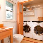 Ideas para colocar el lavarropas en el baño