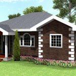 Plano de casa cuadrada de 150 metros cuadrados
